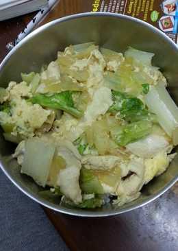營養簡單的日式親子丼