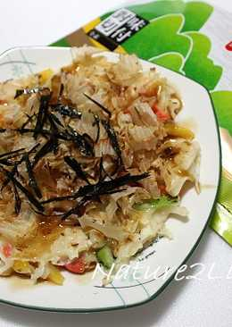 【元本山幸福廚房】<元本山幸福廚房>蔬菜大阪燒
