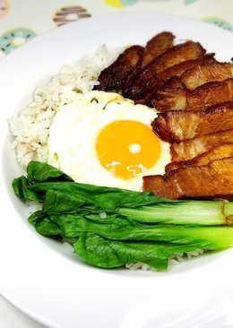 黯然消魂飯(港式叉燒飯)