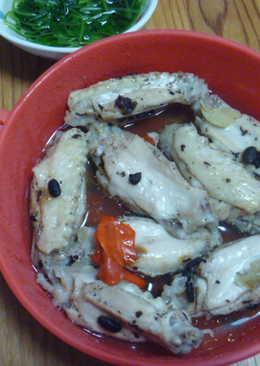 豉汁蒸雞翅
