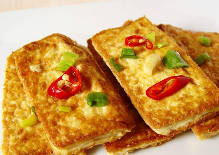 【厚生廚房】香煎豆腐