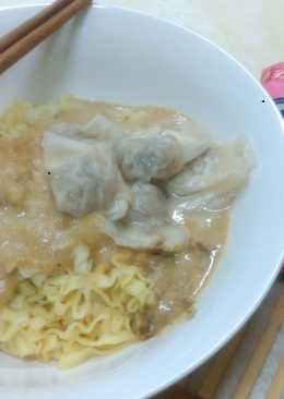 【味王泡麵創意秀】麻醬餛飩乾拌麵