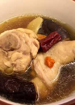 香菇雞湯(電鍋版)