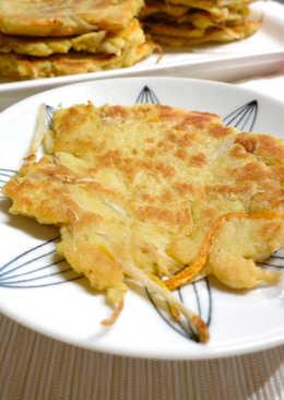 牛蒡絲豆渣煎餅