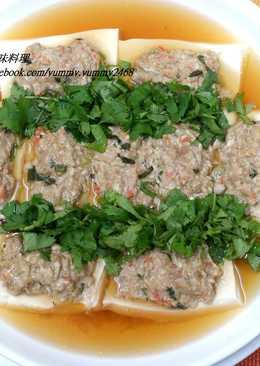 豆腐蒸肉(電鍋料理)