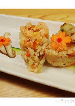 (桂冠)扇貝鮭魚炒飯