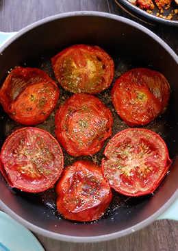 濃郁多汁烤番茄-烤箱料理