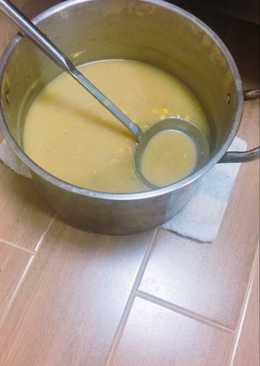 燻雞蘑菇玉米濃湯