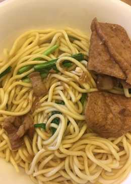 台式炒麵(內含滷汁作法)Taiwanese style Fried Noodles (including Gravy)