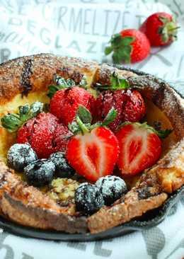 草莓荷蘭寶貝鬆餅 Strawberry Dutch baby pancake