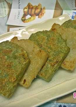[電鍋] 台式蘿蔔糕、抹茶蘿蔔糕