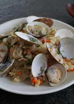 【洋風】蛤蠣炊飯