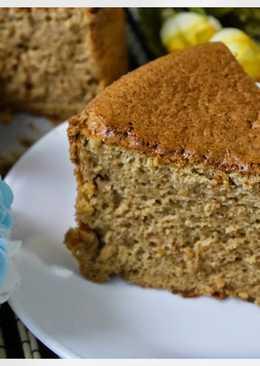 黑糖香蕉海棉蛋糕