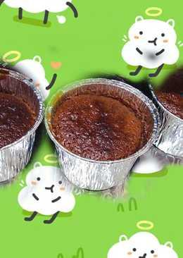 小烤箱 烤黑糖桂圓杯子蛋糕