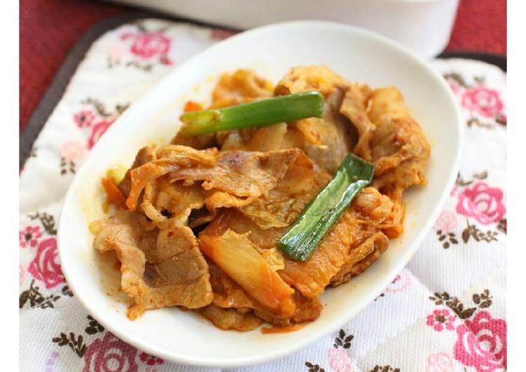 韓式泡菜豬肉