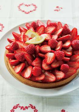 東販小食堂:檸檬奶油草莓塔