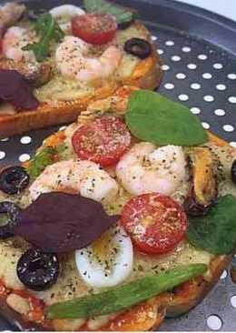 海鮮吐司Pizza