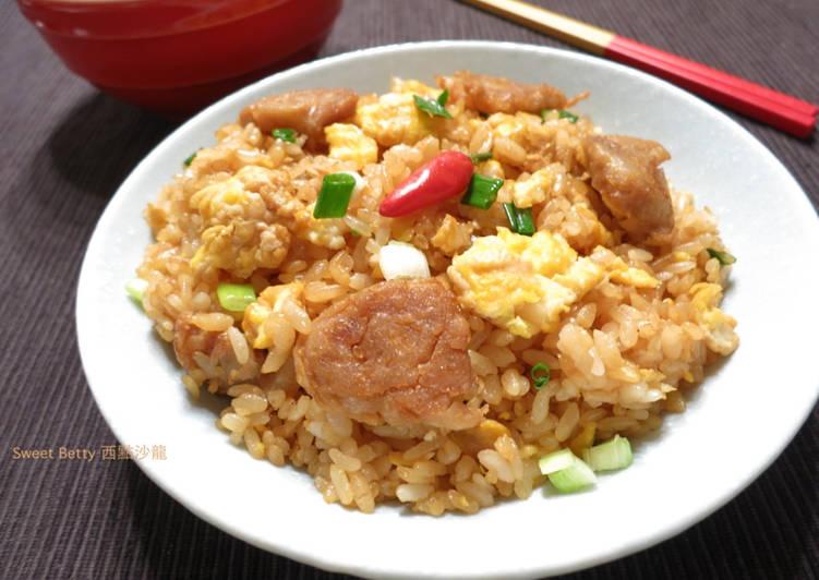 台式香腸蛋炒飯