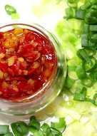 匠弄。星蔥辣椒醬 Hot Chili Sauce with Green Onion Recipe