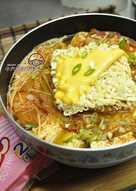 【味王泡麵創意秀】泡菜牛肉豆腐鍋