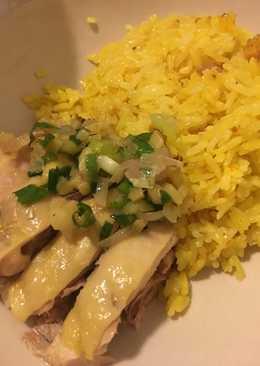 電飯煲。海南雞飯
