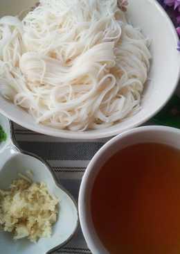 清爽無油 ~ 日式薑香涼麵