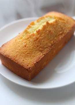 Lemon cake 檸檬牛油蛋糕 (沒有泡打粉)