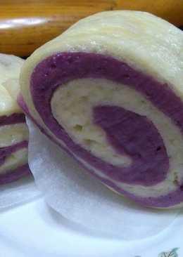 簡易紫地瓜饅頭