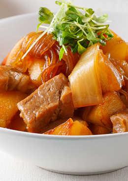 馬鈴薯燉肉(甘醇)