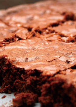 十分鐘簡單做烘焙-『巧克力布郎尼』