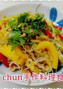 黃金泡菜炒米粉
