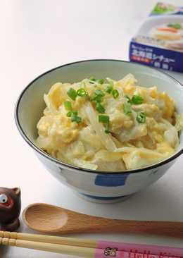【北海道白醬燉】奶醬親子丼