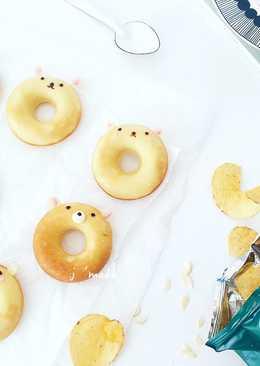 日式烤甜甜圈~可愛動物造型