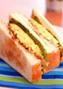 和風蛋三明治(和風たまごサンド)