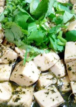 香椿豆腐(素食)