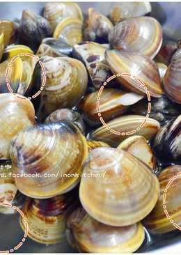 蛤蜊吐砂技巧