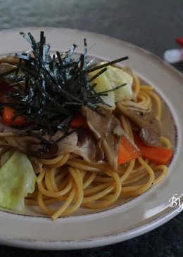 日式炒義大利麵