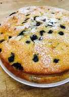 藍莓香蕉巧克力蛋糕