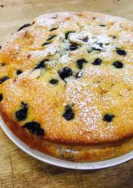 藍莓香蕉巧克力奶油蛋糕