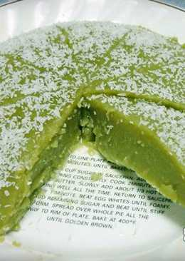 [電鍋] 抹茶椰子外郎糕