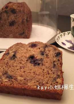 美式藍苺香蕉蛋糕(blueberry banana bread)