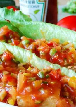 [亨氏番茄醬]茄汁燴豆腐