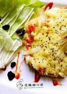 野蔬乳酪煎餅