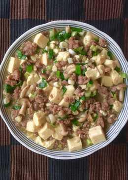 簡易燴豆腐
