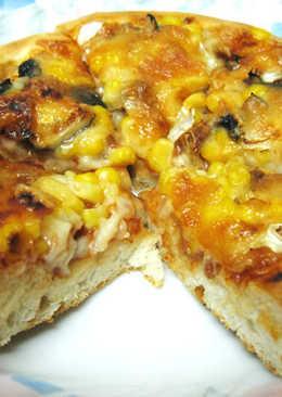 [烤箱] 厚Q餅皮Pizza