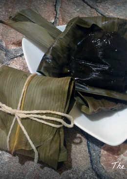 黑糖豆沙冰粽(電鍋料理)