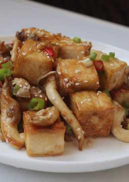 素食燒肉-醬燒豆腐