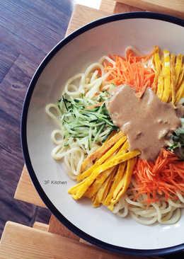 3F Kitchen - 自製麻醬涼麵 / 蛋素