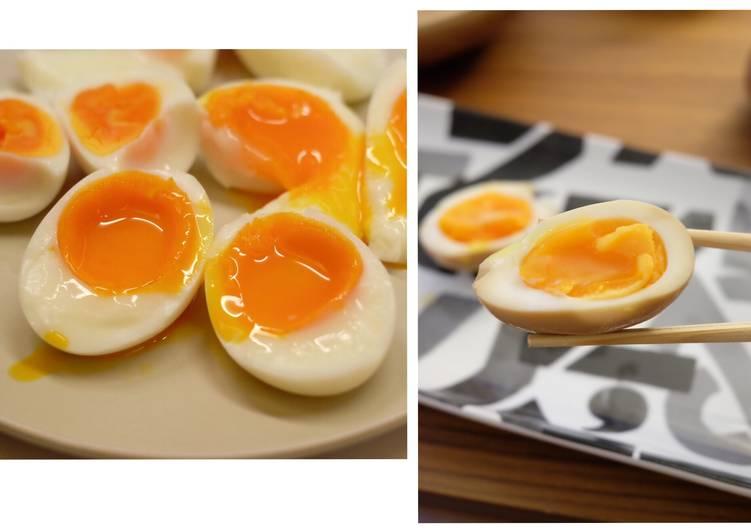 【蛋料理】半熟蛋。拉麵糖心蛋「味付玉子」