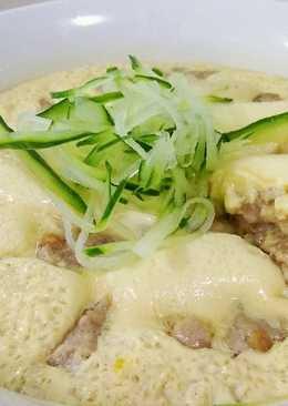 腐乳醬肉末蒸蛋